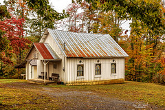 The Little Country Church (Back Road Photography (Kevin W. Jerrell)) Tags: churches autumn backroadphotography baptist leecountyvirginia fallcolor autumncolors christianity countryroads countrychurches countryscenes ruralphotography nikond7200 sigmalens rosehill