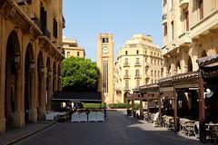 BEIRUT - CLOCK TOWER (Maikel L.) Tags: بيروت لبنان westasia asia asien middleeast naherosten lebanon liban libanon beyrouth beirut downtown clocktower architecture architektur urban city center