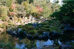 Garden of Toji-in, temple - Kyoto (Ogiyoshisan) Tags: japan japanese 日本 京都 kyoto 秋 autumn temple 等持院 庭園