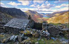The Lake District. (_Anathemus_) Tags: bothy shelter slate mining mine stone hat lake district buttermere cumbria autumn nikon d750 england uk landscape