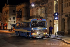 Malta Bus Coop - MHY 003 (Wandle 190) Tags: maltabuses maltabuscoop mhy003 aec vintagebus maltabynight