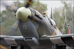 Supermarine Spitfire Mk.XVI  TE184 (Pavel Vanka) Tags: supermarine spitfire mkxvi te184 ciaf czechinternationalairfest lkhk hradeckralove czech czechrepublic airplane plane aircraft airshow spotting spot spotter warbird fighter