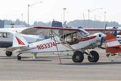 N83374 - 1976 build Piper PA-18-150 Super Cub, parked at Lake Hood (egcc) Tags: 187609101 alaska anchorage lhd lakehood lakehoodseaplanebase lakespenard lightroom n83374 pa18 pa18150 palh piper supercub vanmeter