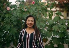Leah (poavsek) Tags: smile portrait film kodak medalist ektar 6x9