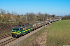 NMBS 2730+M4 stam | Hennuyères (Babo Sorany) Tags: trein train vlak tog zug vonat vlaky vlakem m4 belgië belgique wallonie personentrein personenzug reizigerstrein nmbs sncb