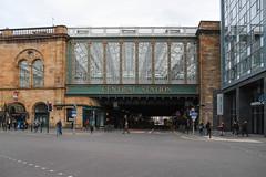 Glasgow Central Station (Michael Erhardsson) Tags: glasgow scotland central station entrance bridge 2019 oktober resa storbritannien