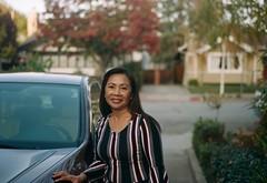 Leah (poavsek) Tags: medalist extar100mm film kodak portra400 6x9 portrait 620