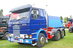 Scania 112M Tractor Unit A754 TEU (SR Photos Torksey) Tags: transport truck haulage hgv lorry lgv logistics road commercial vehicle classic vintage aec rally newark 2019 scania 112m