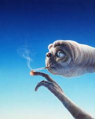 E.T. (Don Claudio, Vienna) Tags: gottfried helnwein et poster steven spielberg film movie cinema