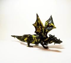 Two Headed Dragon - Nham Van Son (GGIamBatman) Tags: origami papiroflexia dragon drako papel fold two headed nham van son