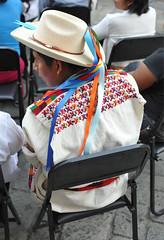 Mixtec Man Hombre Zacatepec Oaxaca (Teyacapan) Tags: man hombre mixteco zacatepec oaxaca camisa skirt textiles embroidery ropa