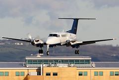 G-FLYK_03 (GH@BHD) Tags: gflyk beech beechcraft kingair superkingair superkingairb200 beechsuperkingairb200 flywales belfastcityairport bhd egac turboprop bizjet bizprop corporate executive aircraft aviation