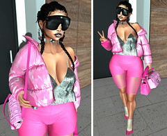 LOTD 525 . put this pussy on ur lips. (Daphne Kyong - The Real Slim Shady) Tags: pink fendi prints