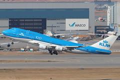 KL B744M PH-BFV @ KL888 (EddieWongF14) Tags: klmroyaldutchairlines klm boeing boeing747 boeing747400 boeing747400m boeing747406m b747 b744 b744m 747 744 744m phbfv 747combi combi
