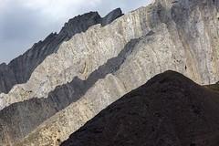 Ridges (Edmonton Ken) Tags: kananaskis rock mountain ridges shadows pattern texture perspective country park sky alberta