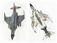 Airfix 1:72 Phantom upper and lower (Nimbus20) Tags: phantom kit plastic 172 airfix