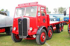 AEC Mammoth Major British Road Services LLU 292 (SR Photos Torksey) Tags: transport truck haulage hgv lorry lgv logistics road commercial vehicle classic vintage aec rally newark 2019 mammoth major brs