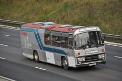 transporter GAZ 8311 (Martha R Hogwash) Tags: neb 346r gaz 8311 aec reliance plaxton supreme express premier travel cambridge forestry commission stock car transporter morecambe