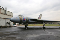 G-VJET / XL426 Southend 16/11/19 (Andy Vass Aviation) Tags: southend royalairforce vulcan xl426 gvjet