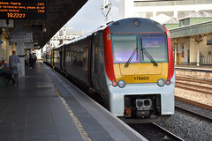 175003, Cardiff Central (Transport for Wales) (Howard_Pulling) Tags: 175 cardiff frw tfw class175 station wales welsh train trains zug bahn