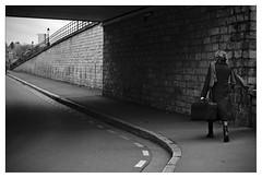 DSCF5362 (srethore) Tags: photo de rue street bw candid people meike 35mm