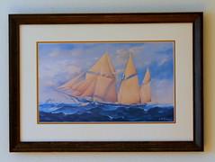 Howard Freeman Sprague (austexican718) Tags: sprague ohio marine painter greatlakes ship painting illustrator