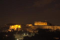 Atenas al anochecer... (cienfuegos84) Tags: night atenas historia history acrópolis