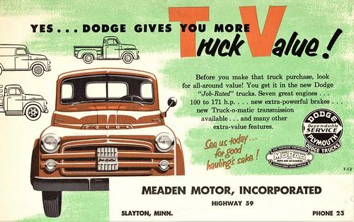 1953 Dodge Trucks