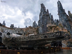 "You've never heard of the Millennium Falcon? It's the ship that made the Kessel run in less than 12 parsecs."" ~ Han Solo (Karnevil) Tags: northamerica usa us florida fl sunshinestate orlando kissimmee waltdisney waltdisneyworld waltdisneyresort disney disneyworld wdw disneyparks hollywoodstudios starwars galaxyedge blackspireoutpost millenniumfalcon smugglersrun oga'scantina batuu atat allterrainarmoredtransport stormtroopers anakinskywalker darthvader jedi kyloren firstorder sith tie twinionengines tieechelon empire dockingbay9 wookiee wookie chewbacca chewie lightsaber theforce maytheforcebewithyou petekreps gopro goprohero7 hero7"