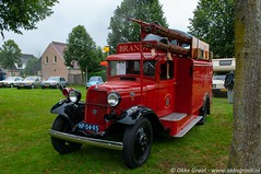 Oldtimerdag Ruinerwold 2019 (Okke Groot - in tekst en beeld) Tags: brandweerautos nf0495 bikkers fordmodelbb sidecode1 trucks ruinerwold drenthe nederland