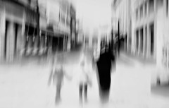 Strangers to this world (Sanda_77) Tags: bnw icm blur artsy painterly