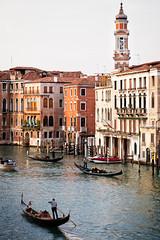 Along the Grand Canal (Fairy_Nuff (piczology.com)) Tags: venice welshot grand canal venezia gondola gondolier