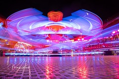 Loughborough Fair-1260 (flamesworddragon) Tags: fairground light trails longexposure ride lights