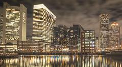7360*4060 panorama slice 11/14/2019 (Eric Wehmeyer) Tags: boston water night city longexposure panorama