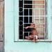 Child in Window, Cienfuegos, Cuba