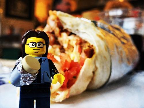 mmm... burrito!