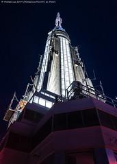 ESB (20191116-DSC09586) (Michael.Lee.Pics.NYC) Tags: newyork esb empirestatebuilding night spire architecture skyscraper observatory sony a7rm4 fe24105mmf4g