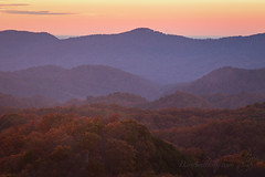 Late Evening in the Fall (Dan and Holly) Tags: autumn danandhollythompson fall fallcolors foothillsparkway gsmnp greatsmokymountainsnationalpark orange purple red autumncolors danandhollycom mountains sunset yellow national leaf leaves shadows naturephotography colors gold flickr