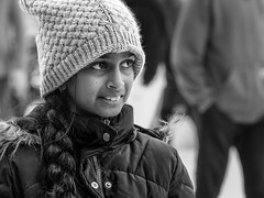 Bundled up (kristenscotti) Tags: 150mm 75mm activity blackwhite camera chicago emotion focallength genre illinois objects place processing season street us absoluteblackandwhite beauty black blackandwhite blur bokeh braid bw candid child city clouds coat dof girl grey happy hat highcontrast ice iceskating knits microfourthirds mono monochrome olympus outside park pen penf people shopping sightseeing skating streetlife streetlight streetphotography streetportrait streetshooter streetshot streetvision tourism urban walking white winter wintercoat woman zoom zuiko unitedstatesofamerica girls coldweather texture wonderland