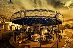 _ DSC3530 Carousel (Charles Bonham) Tags: ashleymi carousel merrygoround carnival winter sonya7r infrared michigan charlesbonhamphotography hss