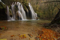 La cascade des tufs aux Planches près d'Arbois - Jura (francky25) Tags: la cascade des tufs aux planches près darbois jura franchecomté automne