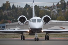 N80QJ (LAXSPOTTER97) Tags: n80qj gulfstream aerospace giv sp mercer air llc cn 1333 aviation airport airplane kbfi