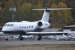 N80QJ (LAXSPOTTER97) Tags: n80qj gulfstream aerospace giv sp cn 1333 mercer air llc aviation airport airplane kbfi