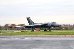 G-VJET / XL426 Southend 16/11/19 (Andy Vass Aviation) Tags: southend gvjet xl426 vulcan royalairforce