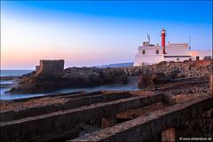 Farol do Cabo Raso (Stefan Bock) Tags: portugal landscape landschaft travel reise natur nature nopeople traveldestinations beautyinnature beach strand lighthouse leuchtturm abandonend verlassen cascais