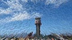 IMG_9311 - punta raisi fun (molovate) Tags: torredicontrollo puntaraisi aereoporto o estrusione volate cubo molovvate esplosione elaborazione fun abstract cielo nuvole terra canon powershot sx40 hs tafme falconeborsellino palermo airport