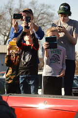 Everyone recording the moment (radargeek) Tags: claremore ok oklahoma kid child kids children shootingtheshooter cellphone 2019 november