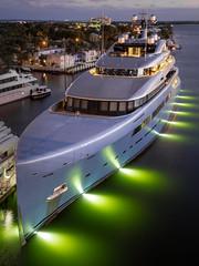 Superyacht Aviva - Fort Lauderdale (Ron Raffety) Tags: yacht avivayacht superyacht megayacht luxuryyacht abekingrasmussen reymondlangtondesign ronraffety fortlauderdale yachtlife