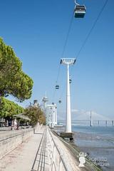 La teleferica al Parque das Nacoes, Lisbona, Portogallo (Pianeta Gaia Viaggi) Tags: portogallo portugal lisbona lisboa