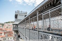Ascensore di Santa Justa, Lisbona, Portogallo (Pianeta Gaia Viaggi) Tags: portogallo portugal lisbona lisboa